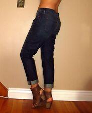 J Brand $200 Aiden Slim Boyfriend Slouchy Boy Cotton Jeans Ringer Vintg Dark 27
