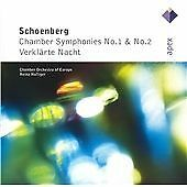 Schönberg : Chamber Symphonies NEW & SEALED