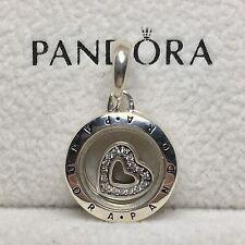 Charm Plata de Ley COLGANTE LOCKET Genuine Pandora Box ALE S925