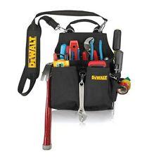 DEWALT Work Gear DG5680 14-Pocket Professional Electrician's Tool Pouch Bag NEW
