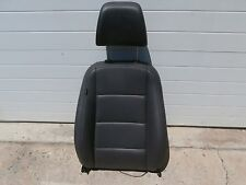 VW 2006-2010 Jetta TDI Upper Seat  Black Leather Front Right OEM 06 07 08 09
