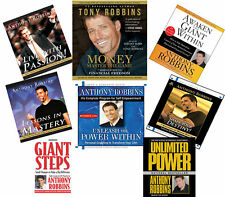 NEW 35 CD (8 sets) Anthony Robbins Lessons in Mastery Live with Passion  Money