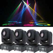 4pc 50W RGBW LED Moving Head Light DMX DJ Club Disco Stage Party Lighting US R8L