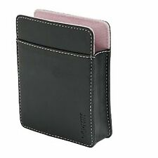 "NEW GENUINE Garmin nuvi 3.5"" Leather Carrying Case BLACK/PINK 010-10936-01"