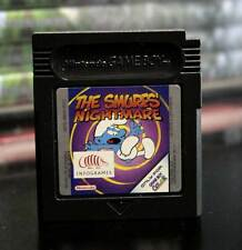 THE SMURFS' NIGHTMARE GAME USED PER GAMEBOY IN EDIZIONE UK SOLO CARTUCCIA FR1