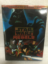 Star Wars Rebels: The Complete Season 2 (DVD, 2016, 4-Disc Set) Sealed Box