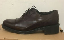 DR. MARTENS HENRIETTA OXBLOOD WAX POLISHED SMOOTH  LEATHER  SHOES SIZE UK 6.5