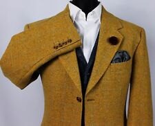 Tweed Blazer Jacket  Windowpane Wool & Cashmere 42R LORO PIANA CLOTH 372