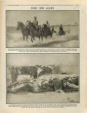 Cavalry Cossacks Artillery Imperial Russia Army/Kaiser & Deutsches Heer 1915 WWI