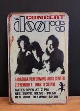El concierto de puertas de estilo Vintage signo de Estaño (20x30cm)
