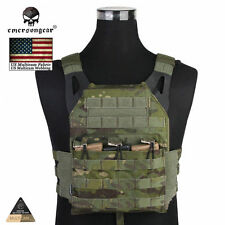 EMERSON JPC Tactical Plate Carrier Vest Hunting CORDURA MultiCam Tropic 7344MCTP