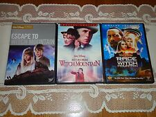 3 MOVIES Race To, Escape To, Return From Witch Mountain (3 DVD Widescreen Set)