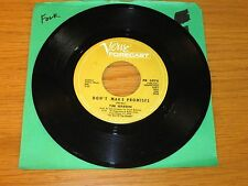 "FOLK 45 RPM - TIM HARDIN - VERVE FORECAST 3078 - ""DON'T MAKE PROMISES"""