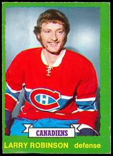 1973-74 OPC O PEE CHEE #237 LARRY ROBINSON RC EX+ MONTREAL CANADIENS ROOKIE