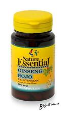 GINSENG ROUGE 500 MG.50 CAPSULES NATURE ESSENTIELLE / STIMULANT - ÉNERGIE NE2236