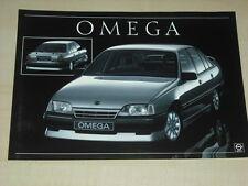64578) Opel Omega A - optisches Tuning - Prospekt 198?