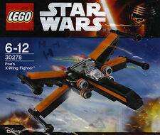 LEGO STAR WARS #30278 - Poe's X-Wing Fighter - NEW / NEUF - Sealed