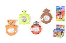 Luz infantil quitamiedos con leds decorada animales adhesiva