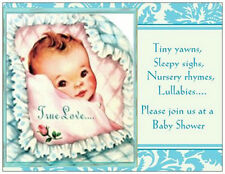 20 Baby BOY Shower INVITATIONS Post Cards SAVE$$$