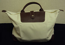 Tote Bag, Canvas, Zippered Top w/Snap Strap, E Vincent/Luggage Guru, Free Shppng