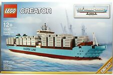 HUGE Maersk LINE SHIP BOAT MISB Lego 10241 NEW IN SEALED BOX NISB Lot #1014H