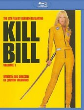 KILL BILL VOL. 1 NEW BLU RAY DISC MOVIE FILM QUENTIN TARANTINO UMA THURMAN RZA