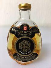 Mignon Miniature Vecchia Romagna Brandy Etichetta Nera Buton 30cc 40% Vol 12