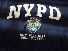 Men's Official NYPD New York Police Dept T-Shirt Size XL