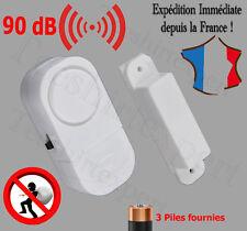Alarme magnétique sans fil détecteur d'ouverture fenêtre porte 90 dB garage