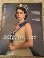 NEW Telegraph magazine October 2016 - QUEEN ELIZABETH II Claire Foy MATT SMITH