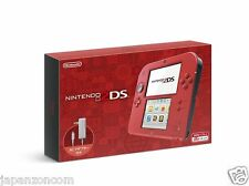 NINTENDO 2DS RED JAPANESE VERSION IMPORT NEW JAPANZON NO 3DS