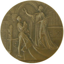 Brussels Universal Exposition of 1910 / Bronze Medal by Godefroid Devreese / M69