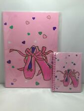 Rare Vintage 1994 Sanrio Ballet Slippers Large & Small Notebooks New In Package