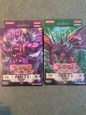 Yu-Gi-Oh Structure Deck Dragons Roar & Zombie Madness 1st Edition NEW SEALED!!!