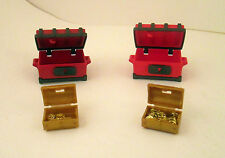 Playmobil Pirate Ship Replacement Pieces Treasure Chests