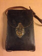 Vintage Leather EKC Eastman Kodak Company Camera Case With Original Strap