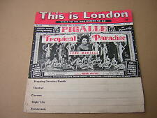 THIS IS LONDON. 1963. WHAT TO DO AND WHERE TO GO. SHOPPING. NIGHT LIFE. THEATRES