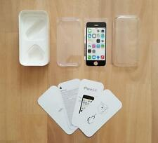 10 x iPhone 5C Empty Box, leaflets, sim tool & Transportation Screen Protector