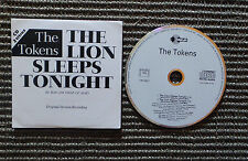 "CD AUDIO INT/ THE TOKENS ""THE LION SLEEPS TONIGHT"" CD 2T ORIGINAL VERSION RECORD"
