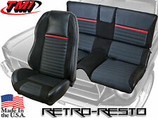 1969-70 Ford Mustang - Mach 1 - Sport R Seat Upholstery & Foam Kit (Full-Set)