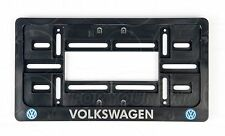 2x Volkswagen LOGO EXCLUSIVE USA LICENSE NUMBER PLATE SURROUNDS HOLDER VW MK
