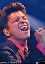 BRUNO MARS PHOTO UNIQUE IMAGE HUGE 12 INCH X 8 UNRELEASED LONDON GEM 2007 RARITY
