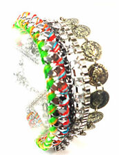 ELEGANT LADIES CHUNKY COLORFUL ABSTRACT UNIQUE  BRACELET  STUNNING (CL5)
