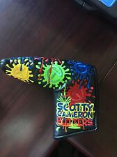 Scotty Cameron Paint Splash Circle T Tour Putter Cover Brand New