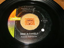 GENE MCDANIELS - A HUNDRED POUNDS OF CLAY - TAKE - LISTEN - SOUL RNB POPCORN