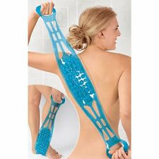 Dual Sided Back Scrubber & Massager Foot/Sole Cleaner Shower Bath Belt