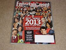 BEST & WORST #1291 December 27 2013 January 3 2014 ENTERTAINMENT WEEKLY MAGAZINE