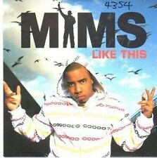 (CE343) Mims, Like This - 2007 DJ CD