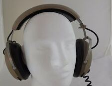 Vintage Realistic Pro-1 Over Ear Headphones with Individual Volume Control