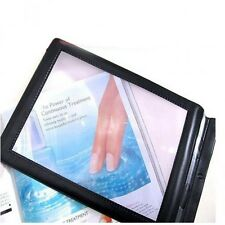 A4 Full Page Large Sheet Magnifier Magnifying Glass Reading Aid Lens Fresnel Bid
